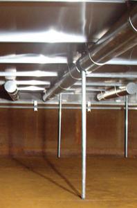 Das HMT UNIDECK® Aluminium Interne Ponton-Schwimmdach (IFR) 0