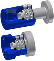 Swivel Joint Type SO with customized flange